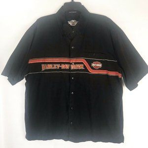 Harley Davidson Embroidered Garage Work Shop Shirt